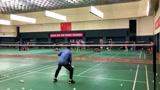 羽毛球训练 郑思维这突破极限的训练方式 送上小编膝盖