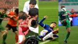 足球是男人的游戏,动起手来双方拉都拉不住就是干!