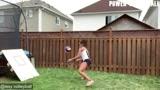 在家打排球,他们都这样玩!