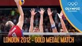 经典重温:2012伦敦奥运会男排决赛俄罗斯vs巴西比赛录像及颁奖仪式