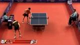 中国乒乓球公开赛,方博对阵林昀儒,小将林昀儒把自己的技术发挥的淋漓尽致