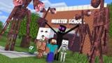 Minecraft动画:凋零骷髅又救了怪物们!