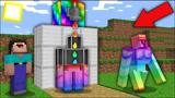 我的世界MC动画:这个彩虹液体创造新的傀儡!