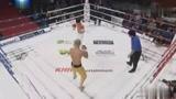 中国拳王首尔遭遇无耻韩国黑哨,发怒暴揍打趴KO韩国跆拳道高手