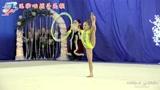 """亮眼的小""""柠檬""""!俄罗斯体操小萝莉实力证明荧光色不显黑"""