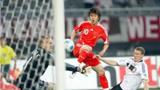 国足进球名场面,蒿俊闵攻破德国球门,邓卓翔任意球洞穿法国