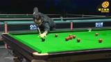 回放威尔士公开赛1/4决赛奥沙利文VS塞尔比第二局,火箭轰单杆142分