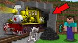 我的世界MC动画:新手修复了被拆解的100年旧火车