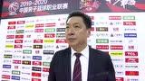 李春江:首节比赛打得不好 后面的比赛打得很好