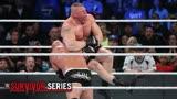《摔角狂热33》:布洛克·莱斯纳VS高柏(单场)