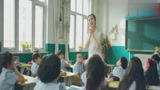 老师课上问学生长大的梦想是什么时,小明的回答亮了,老师直撇嘴