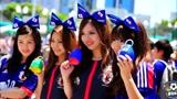 世界美女球迷精彩盘点:日韩美女球迷,可爱迷人美艳动人!