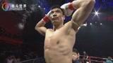中国队长付高峰擂台KO秒杀外国拳王,现场拳迷直接看懵!