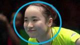 """孙颖莎这1球把伊藤美诚打""""魔怔""""!瞪大了眼睛,露出诡异微笑!"""