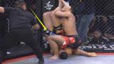 强敌激怒中国金刚樊荣,结果仅76秒就被打惨KO,裁判都看怕了