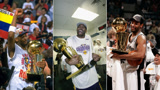 打得好不如运气好NBA幸运儿躺赢7座总冠军比乔丹还多大佬带他领戒指