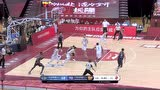 广东传球失误 周仪翔反击三分助北京再次反超比分
