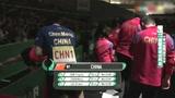 19年女团乒乓球世界杯决赛开场仪式,中国女队与日本女队狭路相逢