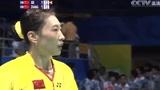 神奇卫冕!经典回放:2008北京奥运羽毛球女单决赛 张宁VS谢杏芳