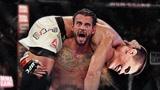 WWE冠军CM朋克打UFC,开场就被暴揍,这可不是娱乐摔跤!