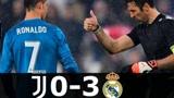 17-18赛季欧冠1-4决赛首回合 C罗2射1传 尤文图斯0-3皇马