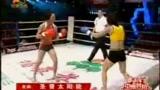 击败UFC拳手闫晓楠,这位搏击美少女不一般!
