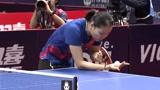 2019日本乒乓球公开赛,顾玉婷首轮淘汰伊藤美诚,干得漂亮