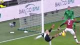 意大利杯:C罗对阵AC米兰个人集锦,精彩倒勾造点破门绝平!