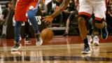 NBA季后赛#手大就是有优势!伦纳德防守抢断一条龙