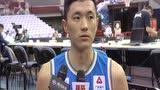 赛后采访陈林坚 没有包袱反而发挥得更好下场要向北京学习