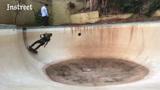 让滑板回到最初的样子,一个废弃的游泳池就够了