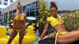 越南混血健身女神,150斤依舊性感迷人,身材曲線簡直逆天