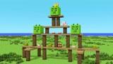 Minecraft动画:MC版愤怒小鸟