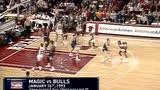 【回放】1993年公牛vs魔术 乔丹49投63分不敌奥尼尔