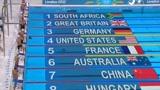 2012伦敦奥运4x200自接力 孙杨逆转夺铜累倒在泳池边