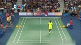 羽毛球 看清楚林丹和李宗伟这个球是怎么打得了吗?