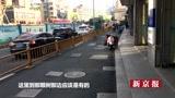 杭州一不足百米道路密布104个井盖 保安:井盖太多汽车禁止通行