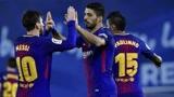 苏亚雷斯打进加盟后首球,梅西帽子戏法巴萨4-0大获全胜!