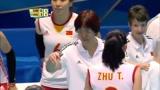 中国女排大比分落后,关键时刻,曾春蕾二号位的一记暴扣太涨士气