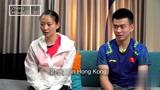 羽毛球搞笑采访 郑思维和黄雅琼 谁的记忆力更好?