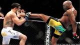 """盘点UFC直踢一击绝杀对手时刻,""""蜘蛛人""""开局秒杀对手!"""