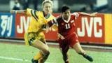96年奥运女足高光,传奇队长孙庆梅轰出世界波,1分险胜巴西