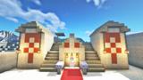 Minecraft的建筑技巧:改造沙漠神殿✔秒变休闲别墅✔