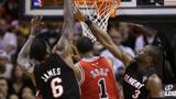 NBA经典:詹韦联手给新科MVP上课 黑色三分钟是罗斯生涯最惨经历