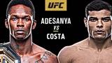 UFC254预热:阿迪萨亚 VS 保罗科斯塔,你看好谁赢?