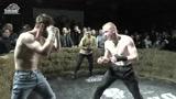 俄罗斯地下黑拳赛,双方裸拳互殴三回合,场面燃爆了