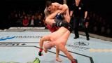 重量级拳王铁拳对攻跳膝撞头,沃尔坎步步紧逼拍掌恐吓一拳打脸上