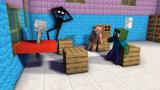 我的世界:怪物学院的微笑屋篇2(一)怪物学院门前出现微笑屋!