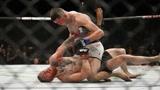 盘点UFC格斗五大精彩KO瞬间,被锁技困住后实现绝地反杀!