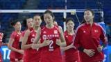 中国女排决胜局10-14落后,朱婷挽救6赛点极限翻盘